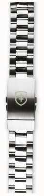 Elliot Brown Mens 22mm escovado e polido cinta de aço inoxidável apenas STR-B01