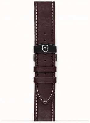 Elliot Brown Mens 22mm pulseira de couro marrom só STR-L05