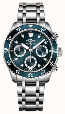 Rotary Cronógrafo de mergulho legado suíço para homem GB90170/05