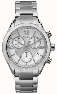 Timex Tom de prata do cronógrafo de miami da mulher TW2P93600