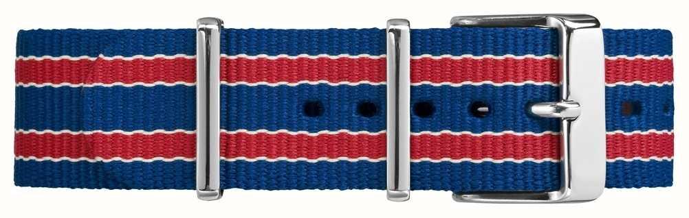 Timex Fivela Weekender fairfield 20mm vermelho azul TW7C07100