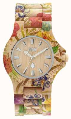 WeWood Relógio de pulseira de design colorido para mulher 70221200