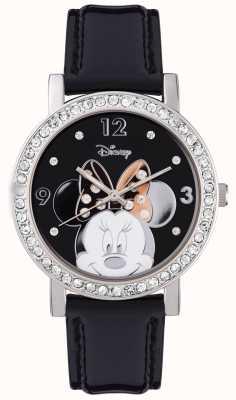 Disney Adult Estojo de prata em aço inoxidável Minnie mouse MN1149