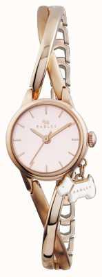 Radley Meia pulseira banhada a ouro rosa RY4184
