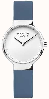 Bering Correia de borracha azul intercambiável Ladies max rené 15531-700