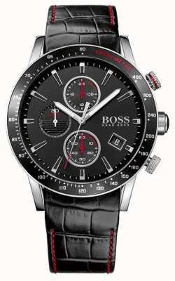 Boss Relógio de cronógrafo preto gents rafale 1513390