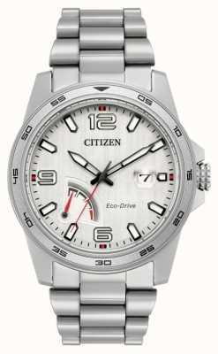 Citizen Aço de reserva de energia dos homens eco-drive AW7031-54A