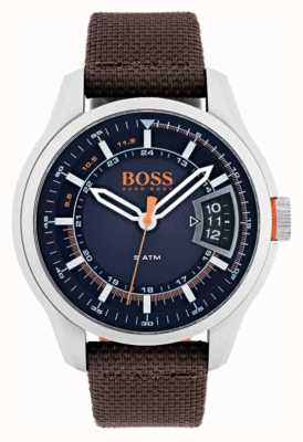 Hugo Boss Orange Mens hong kong pulseira marrom 1550002