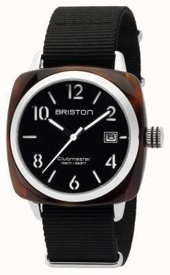 Briston Mens clubmaster clássico acetato hms tartaruga preta 16240.SA.T.1.NB