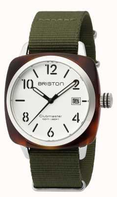 Briston Mens clubmaster classic acetato hms tartaruga branca 16240.SA.T.2.NGA