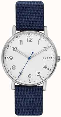 Skagen | mens | assinatura | cinta azul | modelo ex-display | SKW6356-EXDISPLAY