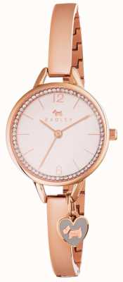 Radley Womans love lane bangle ouro rosa RY4268