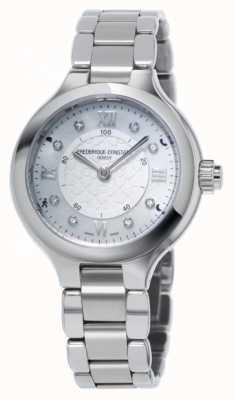 Frederique Constant Prazer da mulher horological smartwatch prata FC-281WHD3ER6B