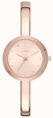 DKNY Mulher murray rosa tonificada pulseira relógio NY2600