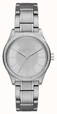 Armani Exchange Vestido de prata prateado AX5440