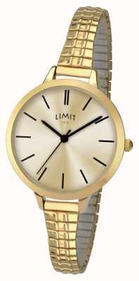 Limit Senhoras relógio de ouro 6231