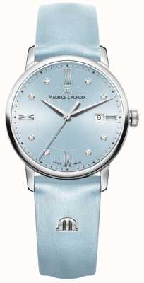 Maurice Lacroix Mulher eliros oito diamantes azul EL1094-SS001-550-1