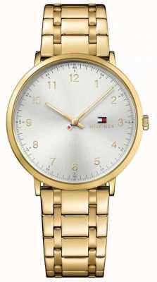 Tommy Hilfiger Mens james pvd banhado a ouro relógio 1791337