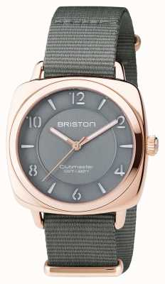 Briston Unisex clubmaster chic pvd cinza rosa ouro 17536.SPRG.L.17.NG