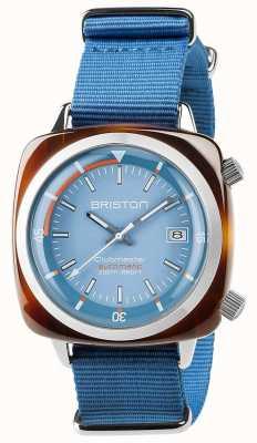 Briston Unisex clubmaster diver tartaruga concha acetato auto azul 17642.SA.TD.18.NLB