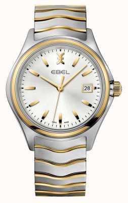 EBEL Relógio de ouro bicolor para homem Wave 1216202