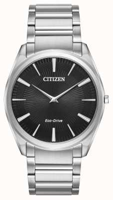 Citizen Mens eco-drive stiletto ultra fino de aço inoxidável AR3070-55E