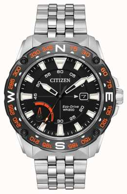 Citizen Reserva de energia eco-drive para homem ex display AW7048-51E EX-DISPLAY