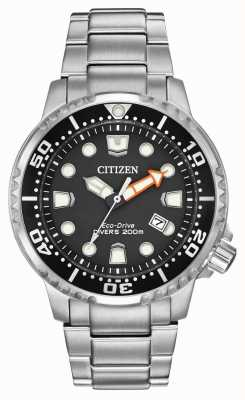 Citizen Mens eco-drive promaster mergulhadores de aço inoxidável BN0150-61E