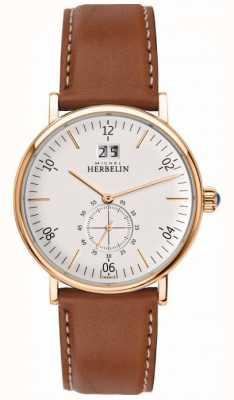 Michel Herbelin Relógio de cronógrafo de inspiração para homem 18247/PR11GO