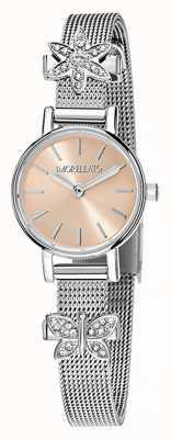 Morellato Relógio de charme de aço inoxidável de tesori das mulheres R0153122582