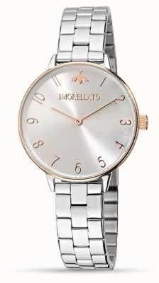 Morellato Ninfa das mulheres subiu relógio detalhe ouro R0153141504