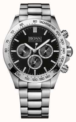 Boss Ikon cronógrafo de aço inoxidável 1512965