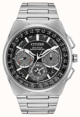 Citizen F900 satélite onda gps cronógrafo super titânio CC9008-50E