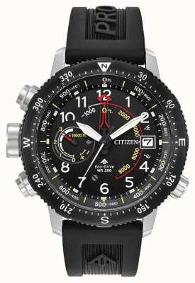 Citizen Correia do mergulhador do altichron do Eco-drive promaster BN4044-15E