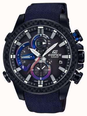 Casio Mens toro rosso bluetooth triplo conectar relógio EQB-800TR-1AER