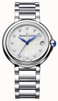 Maurice Lacroix Relógio de pulso fiaba de 32mm com diamantes FA1004-SS002-170-1