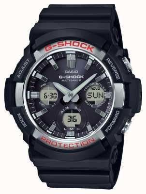 Casio Cronógrafo de alarme de waveceptor G-shock GAW-100-1AER