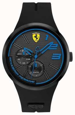 Scuderia Ferrari Silicone preto masculino 0830395