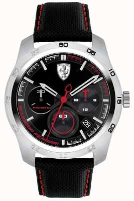 Scuderia Ferrari Mostrador preto e vermelho Primato 0830444