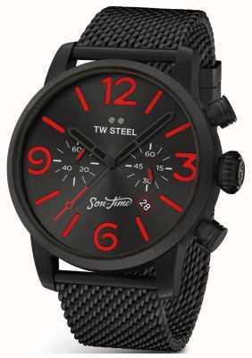 TW Steel Mens edição especial filho do tempo tempus fúria MST14