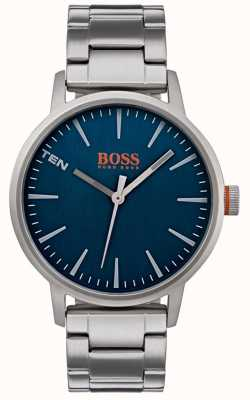 Hugo Boss Orange Mens copenhagen assistir mostrador azul 1550058