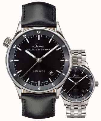 Sinn Conjunto de pulseira / pulseira 6068 distrito financeiro de frankfurt automático 6068.010