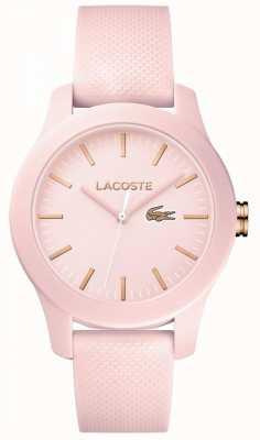 Lacoste Womans 12.12 assistir rosa 2001003
