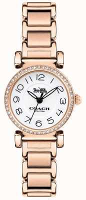 Coach Madison mulher subiu conjunto de cristal de ouro 14502853