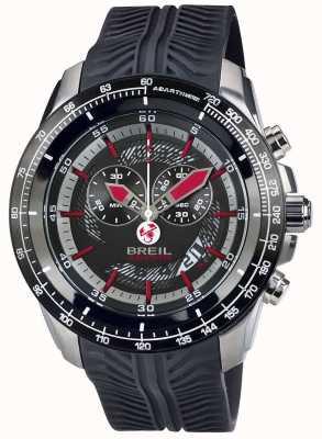 Breil Abarth aço inoxidável ip cronógrafo black & red dial TW1488