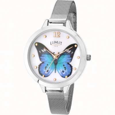 Limit Relógio de malha de borboleta de jardim secreto das mulheres 6269.73