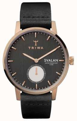 Triwa Noir svalan preto clássico super slim SVST101-SS010114