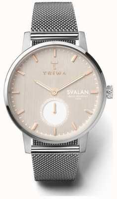 Triwa Blush svalan silvert malha super slim SVST102-MS121212