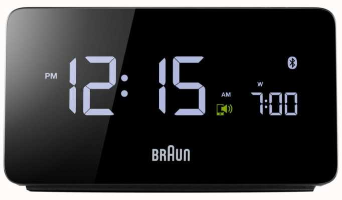 Braun Despertador digital bluetooth BNC020BK