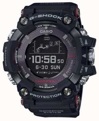 Casio Premium G-shock rangeman gps posição solar recarregável GPR-B1000-1ER